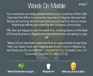 CBN Words on marble