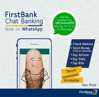 First Bank chat banking