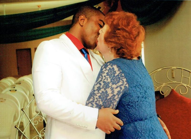 CJ Nwachukwu kissing Angela.