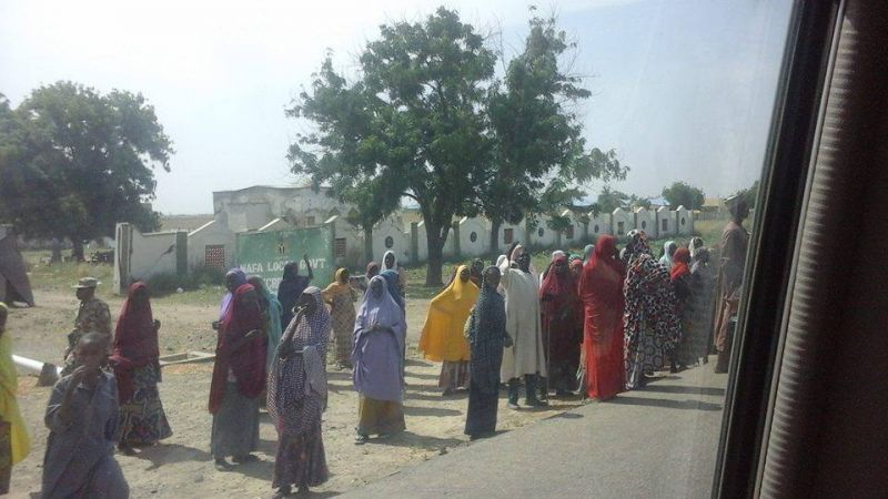 Some parts of North East that were formally occupied by Boko Haram are now returning to normal, this photo was taken by News Express Publisher, Isaac Umunna on Wednesday 9th, 2016 in Mafa, Borno state. It shows how far the Community has come far since it was recaptured from Boko Haram Insurgents on March 4, 2015.