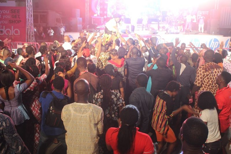 Out-pouring of praise on Sunday, November 20th, 2016 as a star-studded cast of Gospel artistes draw the curtains on the multi-city mega Yudala music concert with Zero Gravity Rock Gospel Concert in Lagos.