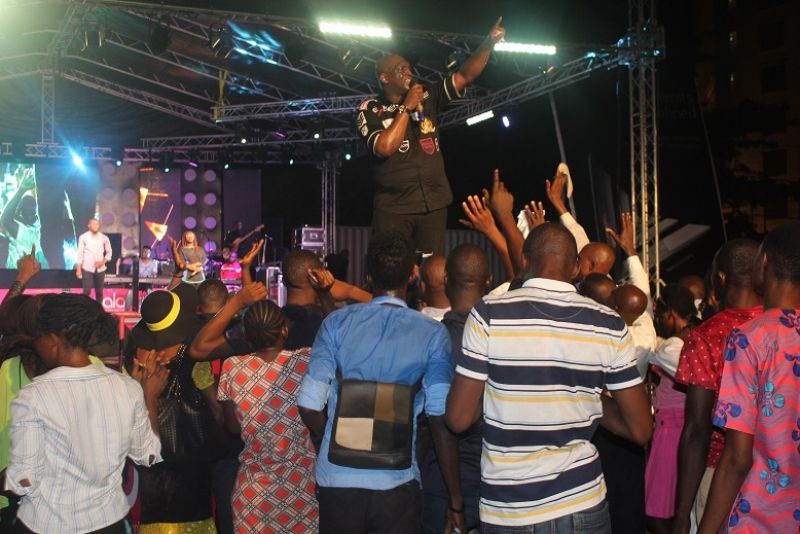 Out-pouring of praise on Sunday, November 20, 2016 as a star-studded cast of Gospel artistes draw the curtains on the multi-city mega Yudala music concert with Zero Gravity Rock Gospel Concert in Lagos.