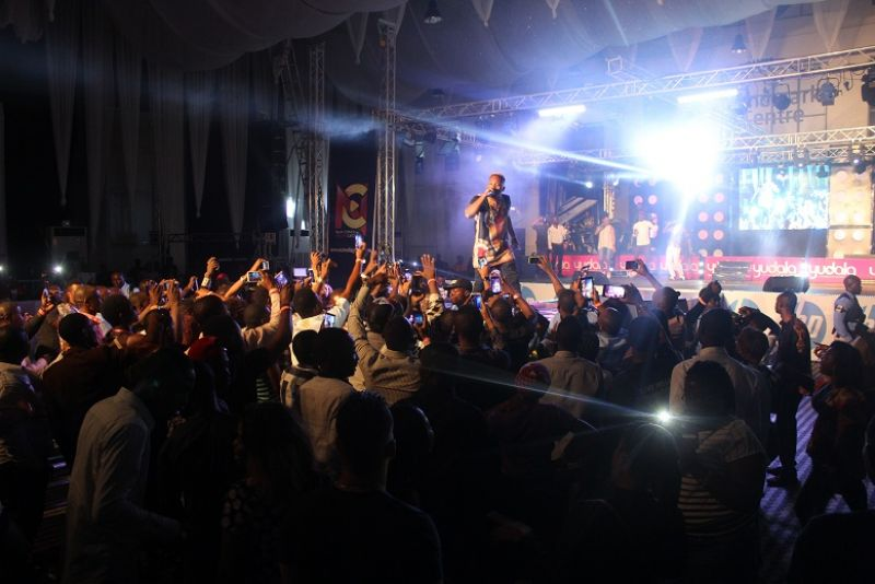 Olamide Performing at the Yudala Zero Gravity On 2nd October 2016 held at the Landmark Event Centre Oniru, lagos state.