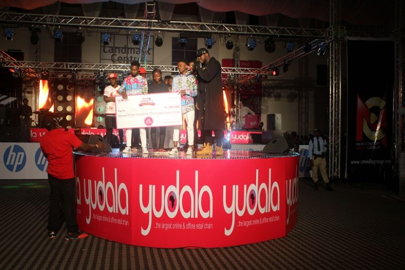 Winner of the dance competition at Yudala Zero Gravity held at Landmark centre on 2nd oct 2016 gets cash prize.