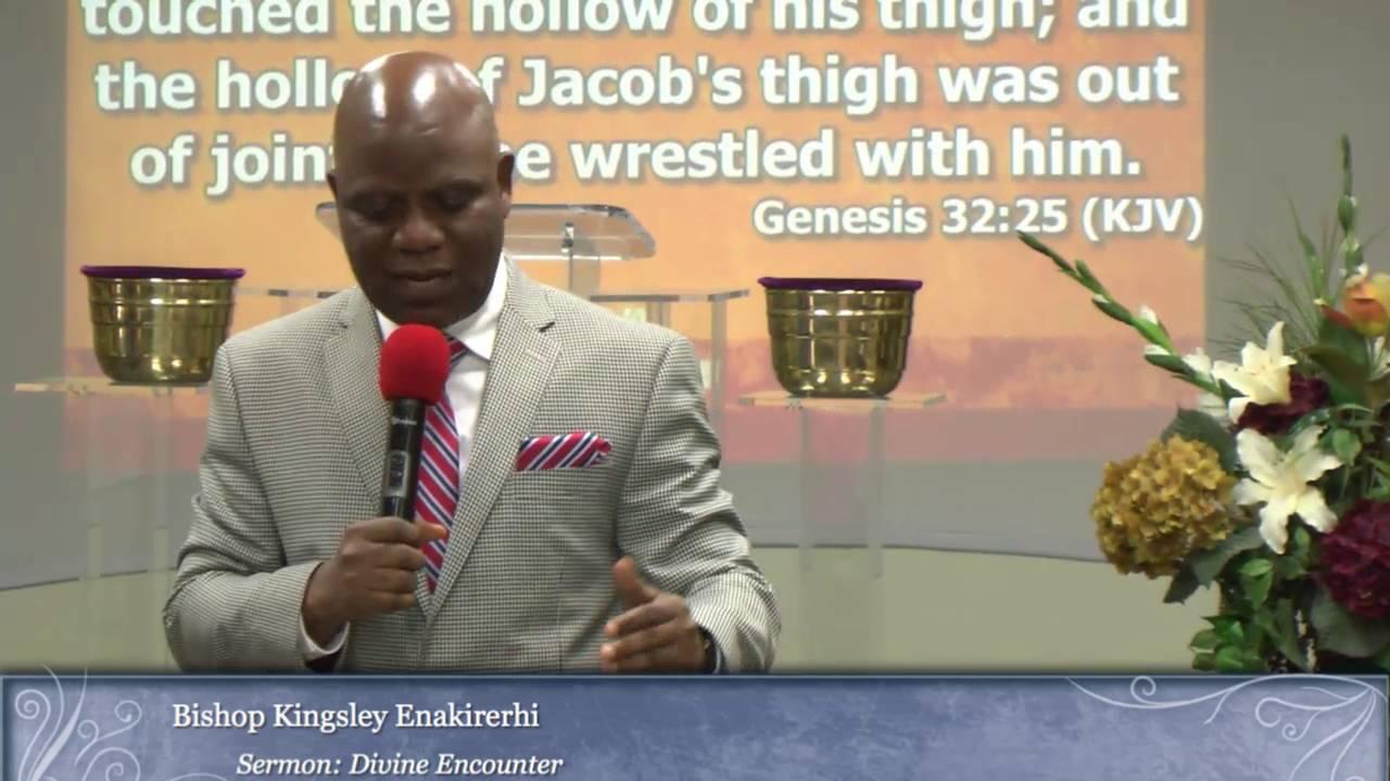 • Delta State PFN Chairman, Bishop Enakirerhi