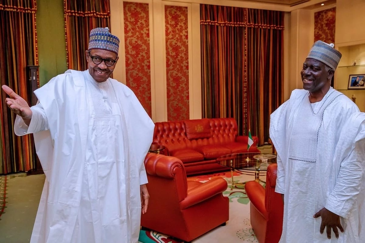 •Buhari and new DG DSS Yusuf Bichi