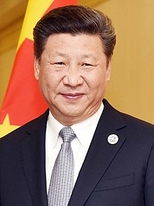 •Chinese President Xi Ping