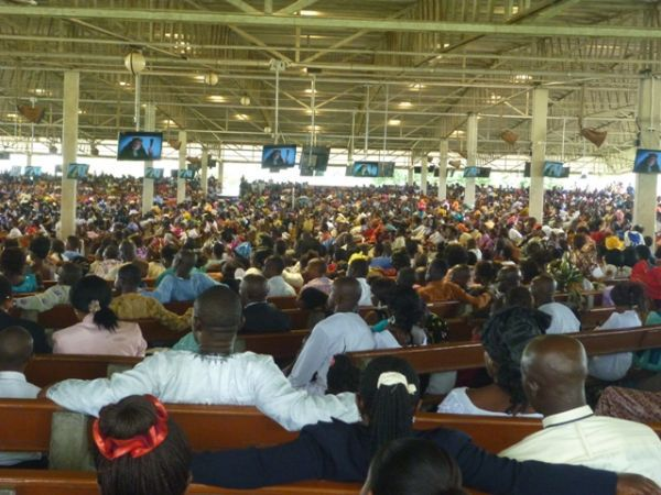 Pidgin convention of Jehovah's Witnesses held in Lekki Assembly Hall