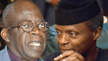 •Ex-Governor Tinubu and VP Osinbajo