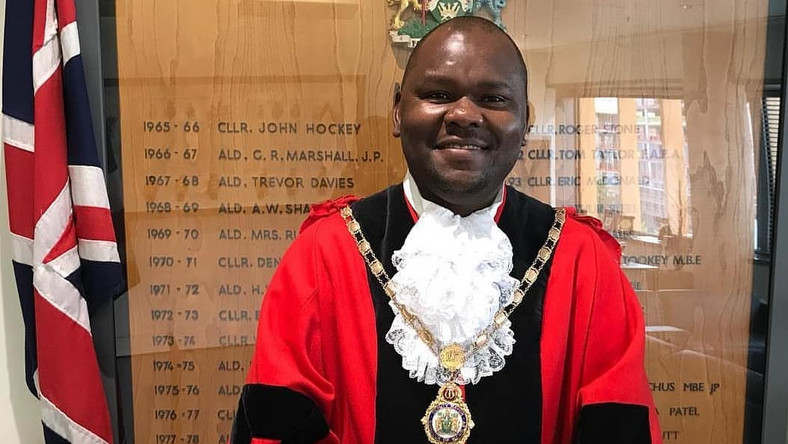 •First Citizen of Brent, His Worshipful, Mayor Ernest Ezeajughi