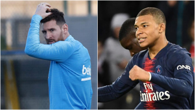 Mbappe breaks Messi's Champions League record