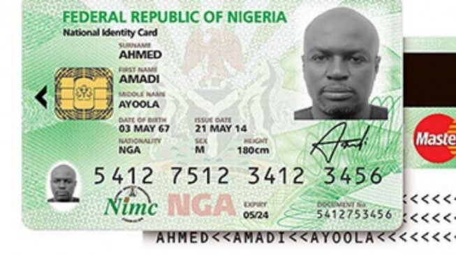 •National Identity card