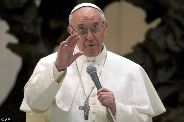 Surrender now and face justice, Pope tells randy priests