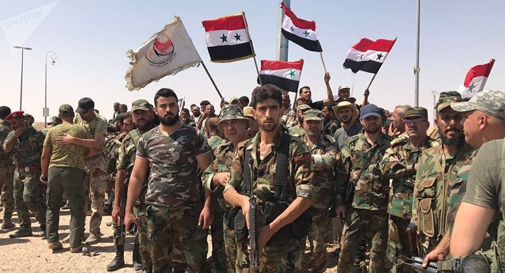 •Syrian forces