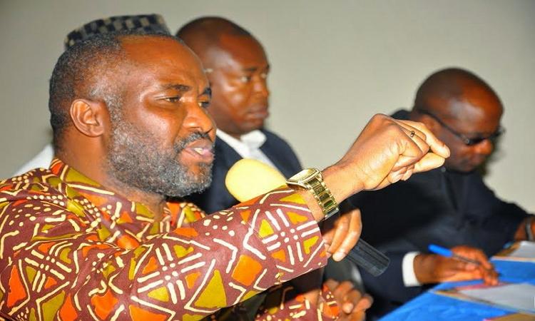 •HURIWA National coordinator of HURIWA, Comrade Emmanuel Onwubiko