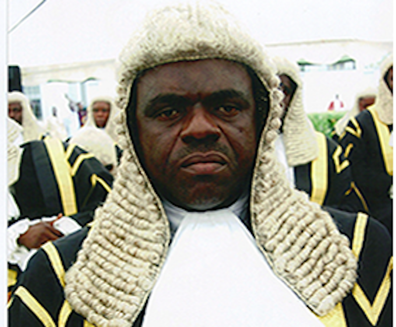 • Federal High Court Acting CJ, Justice Tsoho