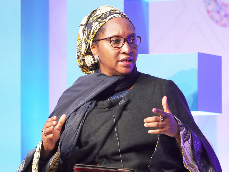 •Minister of Finance, Budget and National Planning, Mrs Zainab Ahmed