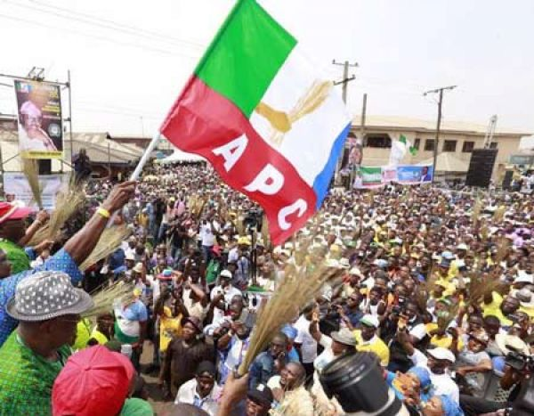 •APC faithful during a congress