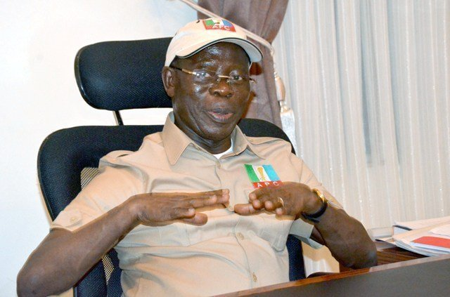 Presidential battle: Buhari will defeat Atiku at Supreme, World Courts — Oshiomhole