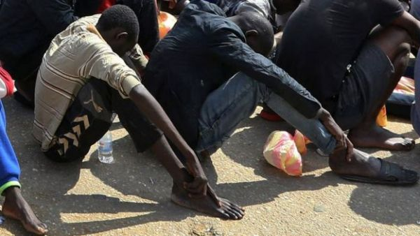 African migrants sold in Libya 'slave markets'