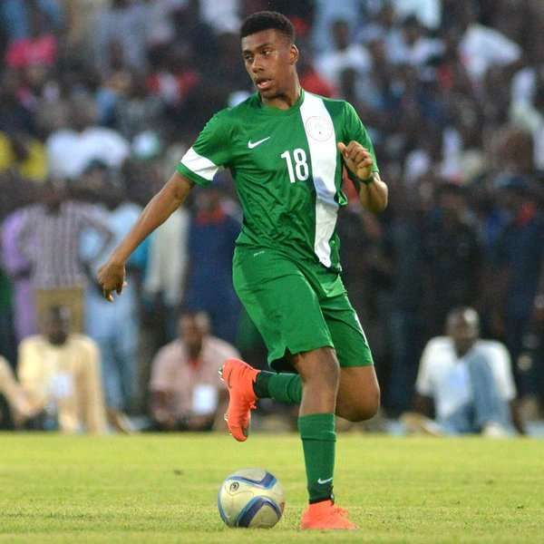 •Arsenal's Nigerian international Alex Iwobi