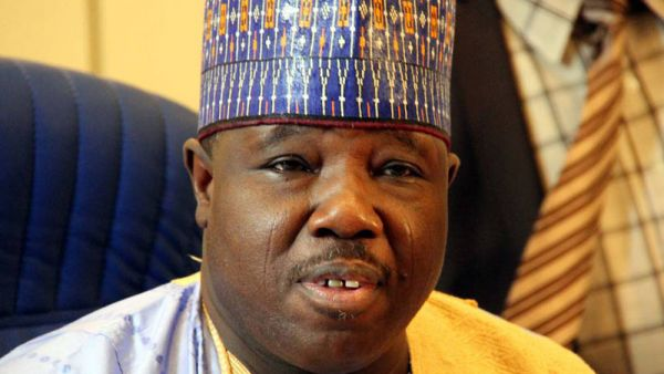 •PDP National Chairman Modu Sheriff.
