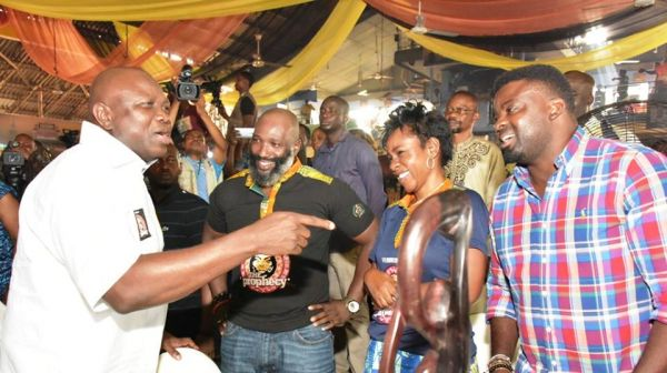 Ambode, Pedro, Falana, Utomi, others celebrate Fela at Afrika Shrine