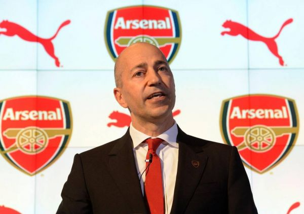 •Arsenal CEO Ivan Gazidis