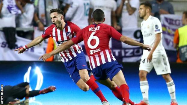 •Saul and Koke's fantastic strikes in extra-time gave Atletico Madrid victory