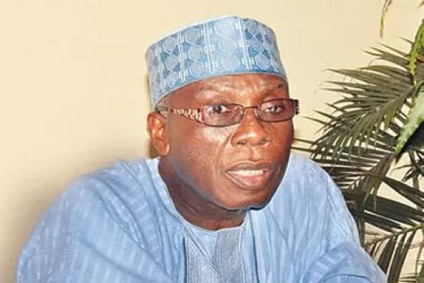 •Agriculture and Rural Development Minister, Audu Ogbeh