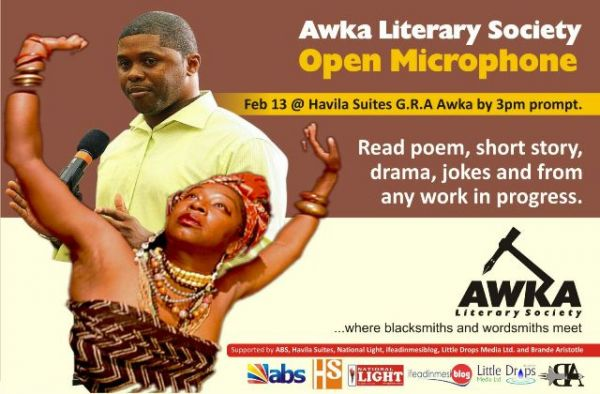 Awka Literary Society holds Valentine Eve Open Mic Session