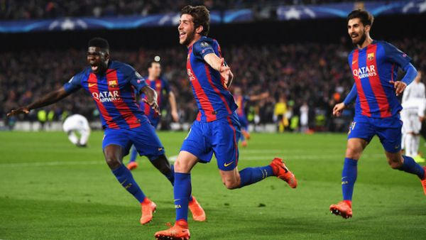 Night of miracle as Barcelona erase 0-4 loss to storm into Champions League quarter-finals
