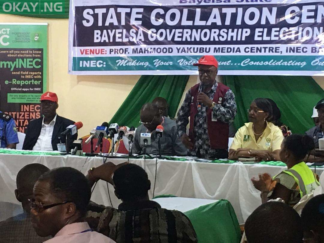 Bayelsa Guber: Democracy Watch Nigeria calls for cancellation of election results