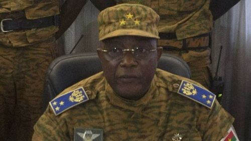 Army Spokesman declares self Burkinabe interim president, suspends Constitution •Compaore flees to Ghana