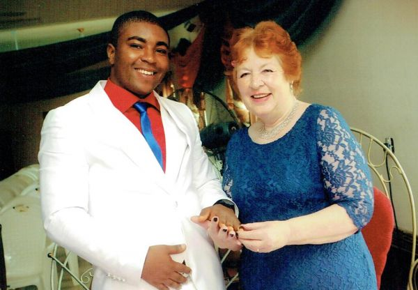 72-year-old British grandmother marries 27-year-old Nigerian, heartbroken after he is denied visa
