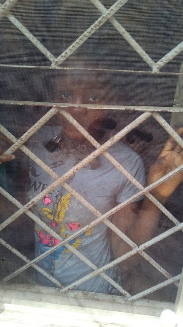 •Abused Nigerian child