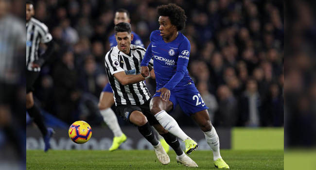 Liverpool go seven points clear again, as Chelsea tighten grip on top-four spot with win over Newcastle