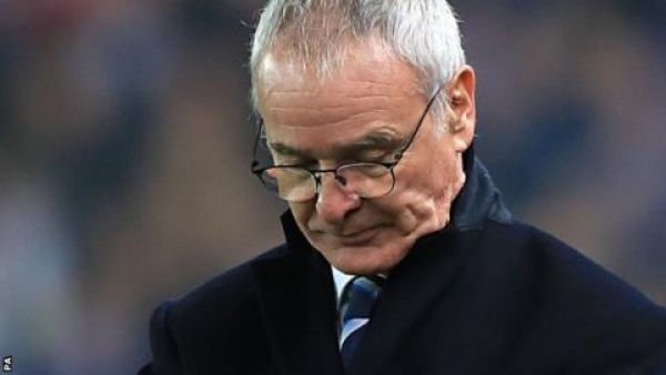 •Former Leicester City Manager Claudio Ranieri.