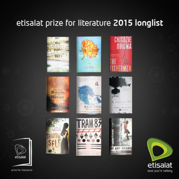Three authors shortlisted for 2015 Etisalat Prize for Literature