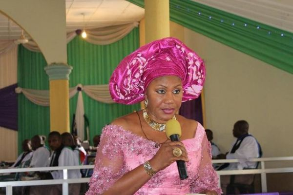 •Anambra First Lady, Mrs. Ebelechukwu Obiano.