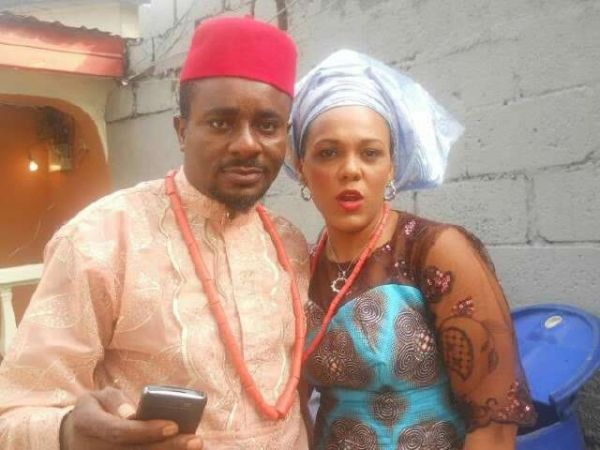 •Emeka Ike and Suzanne Emma during happier times.