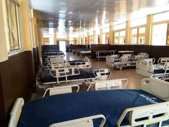 •One of the wards of the remodeled Methodist General Hospital, Ituk Mbang