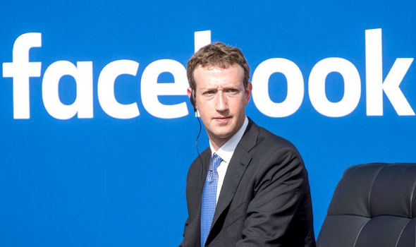 •Facebook CEO Mark Zuckerberg