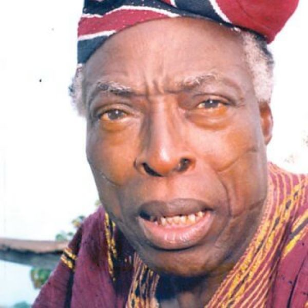 •Late veteran broadcaster and actor, Pa Adebayo Faleti.