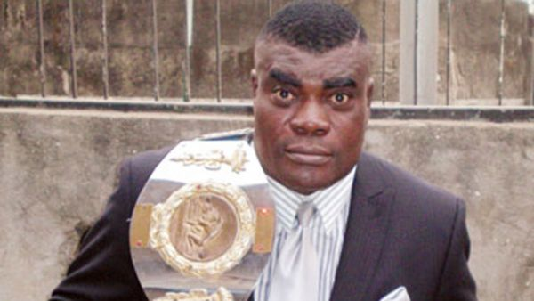 •The accused, famous wrestler John Eke Uti a.k.a. Power Uti