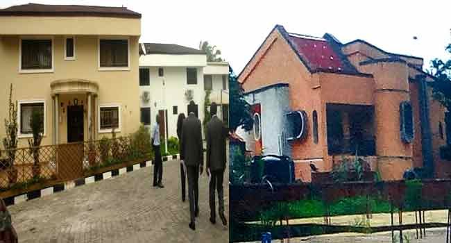 •Some of the houses allegedly owned by Fayose
