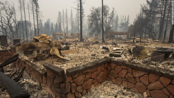 Fire ravages Northern California, leaves 17 dead, 20,000 displaced, businesses ruined