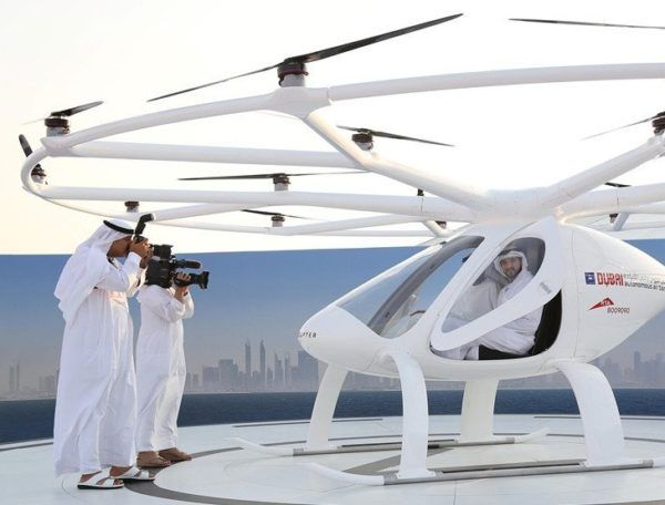Dubai launches self-flying taxis, world's first