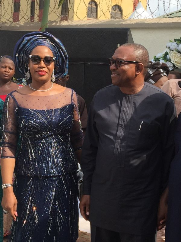 No plan to divorce my husband: Margaret Peter-Obi