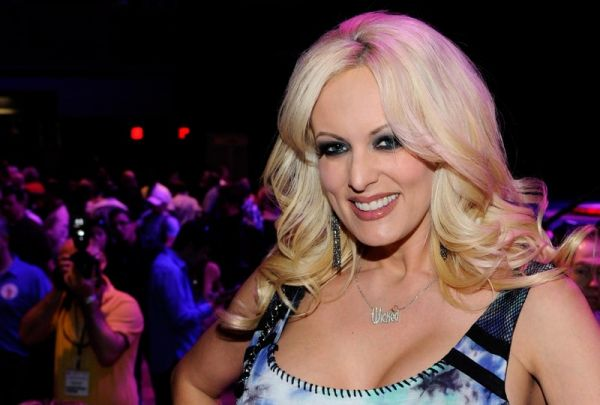 •Porn star Stephanie Clifford alias Stormy Daniels